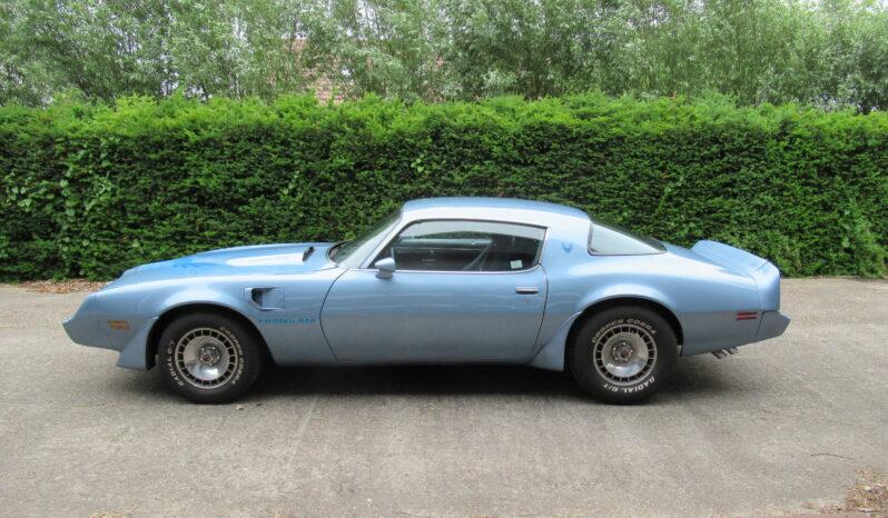 Pontiac Firebird Trans Am V8 Turbo full